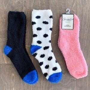 Fuzzy Sock Bundle of 3